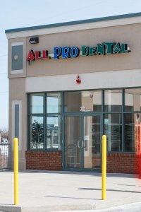 exterior of All Pro Dental office