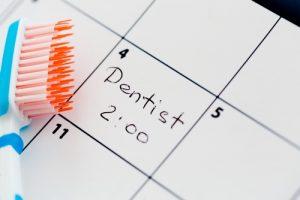 a dental calendar
